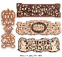 Victorian Fretwork Wall Plaque Patterns