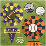 Sports Yard Spinner Pattern Set
