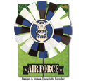 Air Force Yard Spinner Pattern