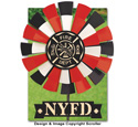 Firefighter Yard Spinner Pattern