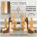 Compound Cut Nativity Pattern Set