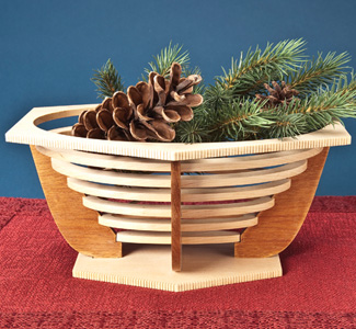 Elegant Art Basket Design Pattern Set #11