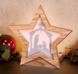 Lighted Nativity Star Project Pattern