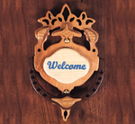 Warm Welcome Door Knocker Project Pattern