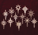 Heavenly Star Ornaments #1 Project Patterns
