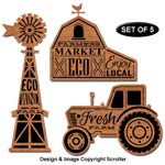 Farm Sign Wall Art Design Patterns