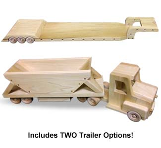 Semi Truck and Trailer Patterns