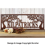 Family Name Wall Art Pattern