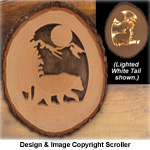 Lighted Bear Round Pattern