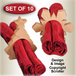 Holiday Napkin Rings Pattern