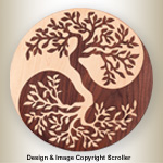 Yin-Yang Tree Project Pattern