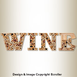 Wine Cork Holder Display Pattern