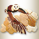 Barn Owl Intarsia Design Pattern