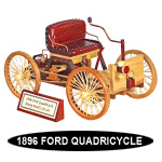 1896 Ford Quadricycle Design Pattern