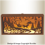 Interchangeable Christmas Panel Light Box Pattern - Downloadable