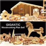 Woodworking Plan Variety Pack