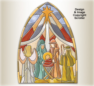 Nativity Intarsia Pattern