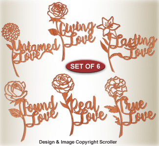 Expressions of Love Wall Art Pattern