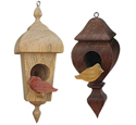 Compound Cut Birdhouse Ornaments Project Patterns