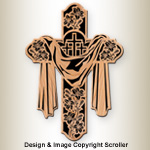 Easter Lilly Cross Pattern
