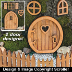 Fairy Door Collection Pattern