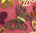 Set of 10 Butterfly Ornament Project Patterns