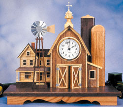 Little Country Farm Clock Pattern Booklet