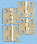Solid Brass Hinges w/Screws