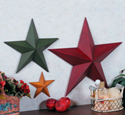 Wooden Wall Stars Set Woodcraft Pattern