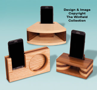 Wood Cell Phone Amplifiers Pattern Set