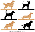 DOGS - Mailbox Topper Pattern