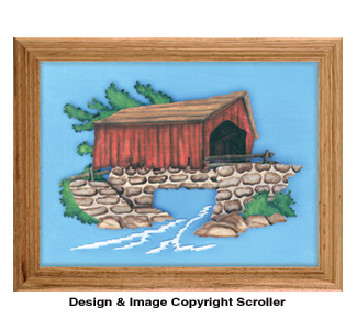 Red Covered Bridge Project Pattern