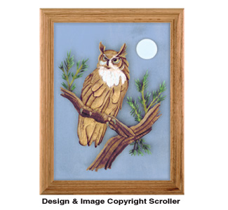 Great Horned Owl Project Pattern