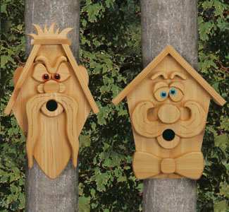 Cedar Men Birdhouse #2  Plans