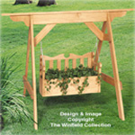 Swing Set Planter Plan